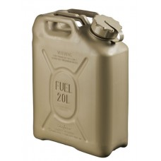 20L Scepter Fuel Can - RED strap (Petrol) AS