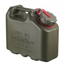 10L Scepter Fuel Can - RED Strap (Petrol)