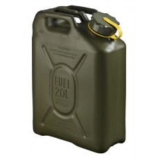 20L Scepter Fuel Can - Yellow Strap (Diesel) OD