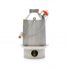 Medium 'Scout' Kelly Kettle (Stainless Steel) 1.2 ltr. NEW MODEL - NO RIVETS