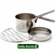 Cook Set (Stainless Steel) for Base Camp or Scout Models
